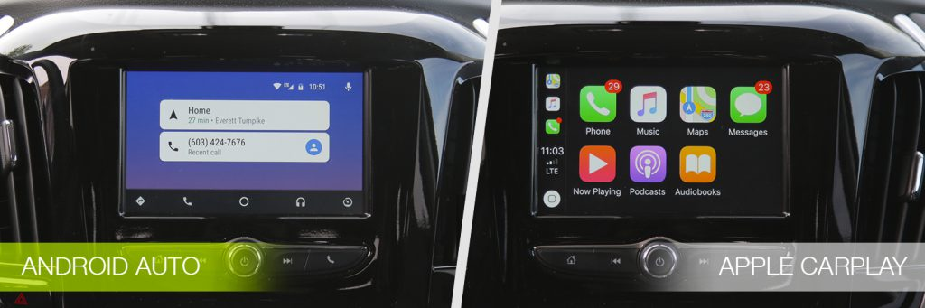 Android Auto vs Apple CarPlay in 2018