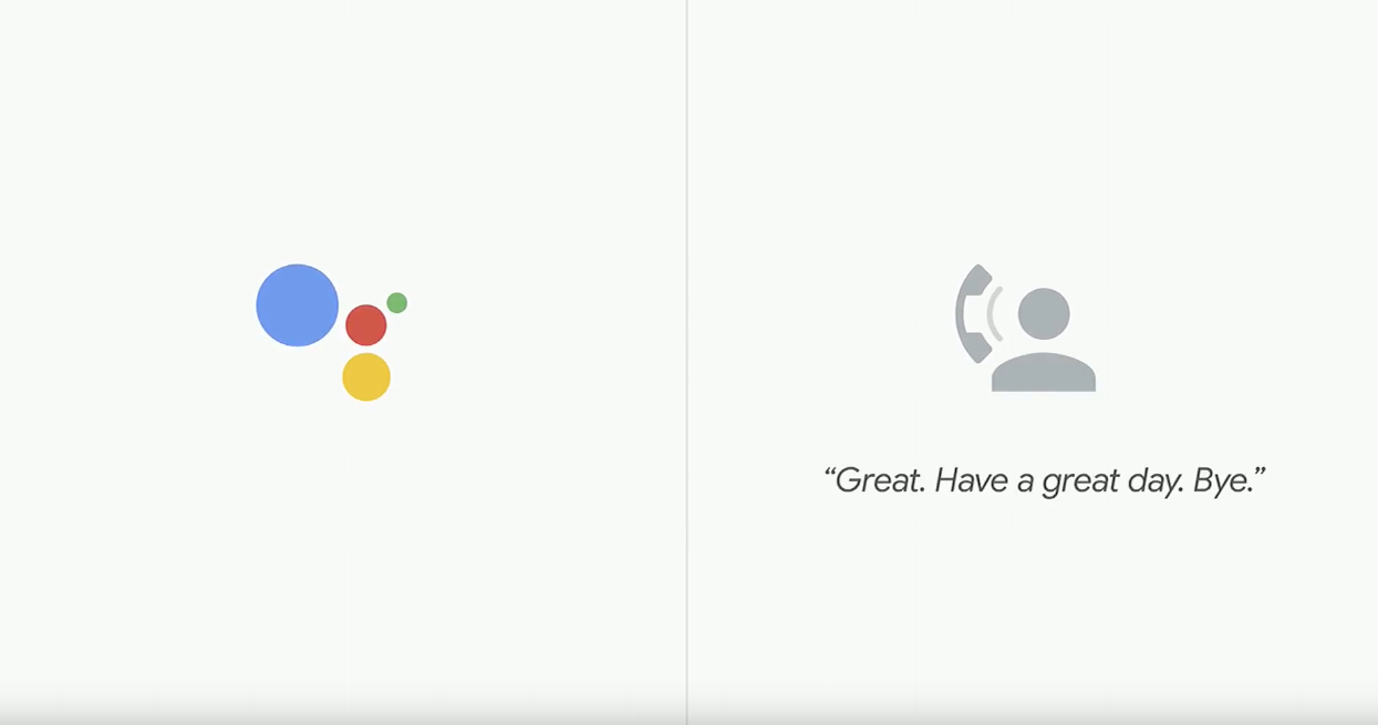 Google Duplex Demo from Google IO 2018 Conference