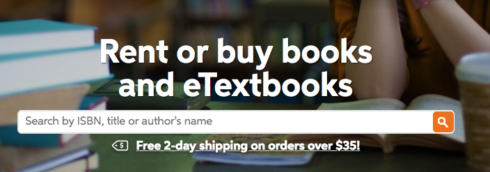 Chegg Books App university online textbook service