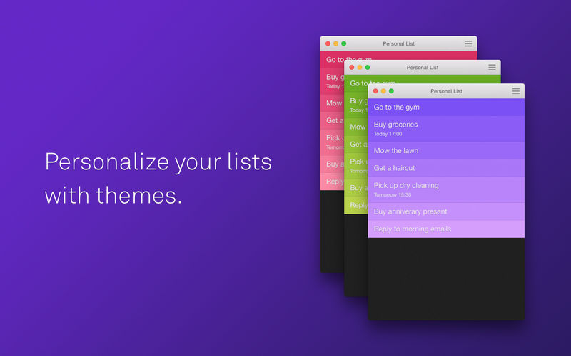 Clear List To-Do & Reminder App
